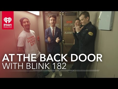Blink 182's Musical Backstage Interview | At The Back Door
