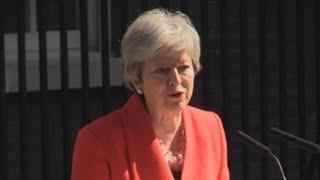 May dimitirá 7 de junio y abre la sucesión en el Gobierno británico