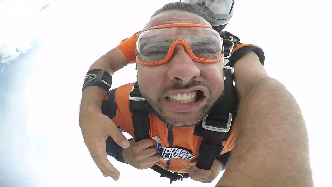 Salto de Paraquedas do Antonio L na Queda Livre Paraquedismo 12 01 2017