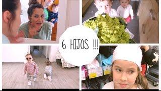 VLOG RECOPILATORIO /  PRIMER día NATACIÓN + TERREMOTO de 4,4 !!! Mellizas 13 meses #AD