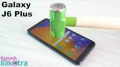 Samsung Galaxy J6 Plus Screen Scratch Test