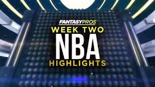 Top 5 NBA Highlights: Week 2 (2018-19)