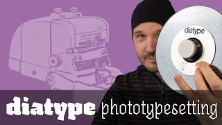 Phototypesetting with the Berthold ‹diatype›