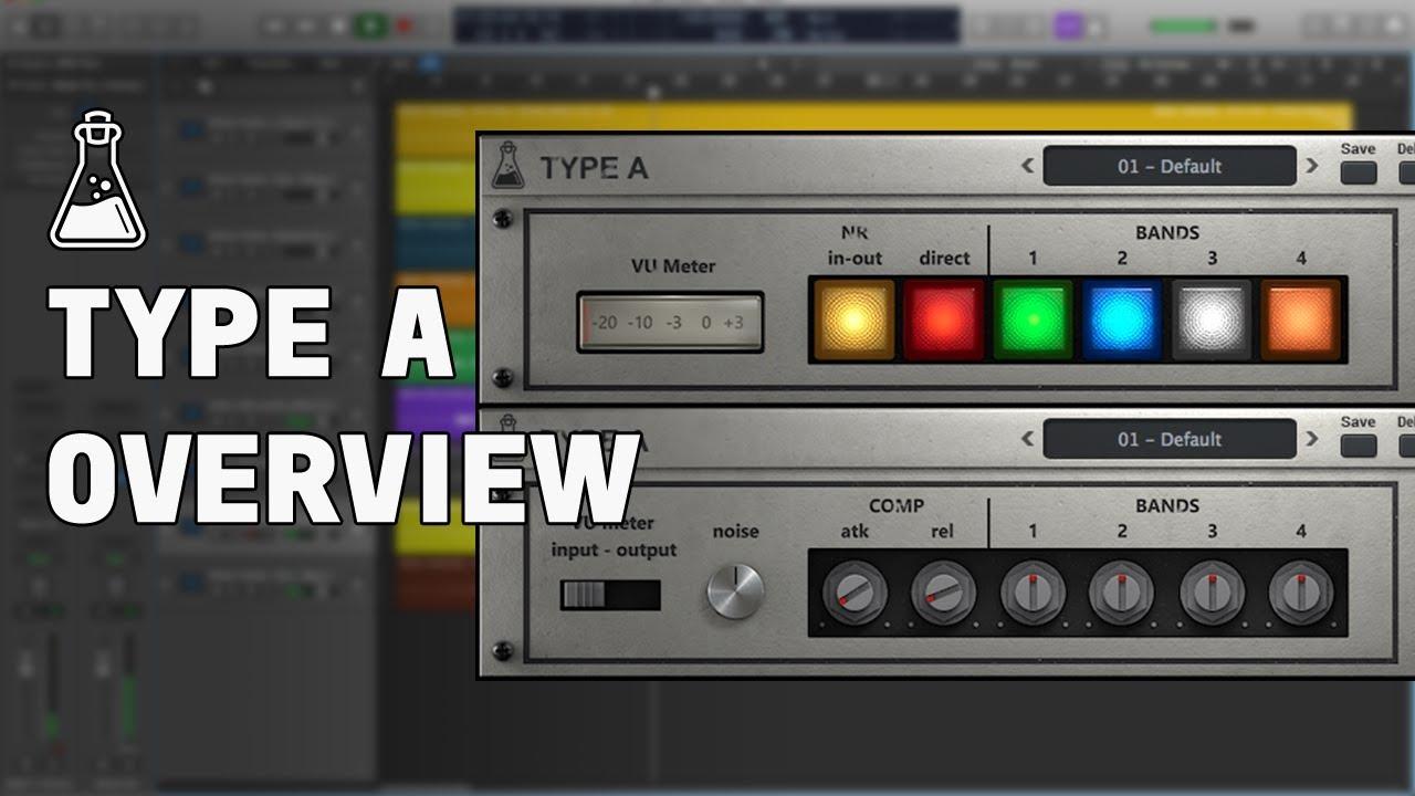 Type A - Vintage Enhancer Plugin (VST, VST3, AU, AAX) - AudioThing