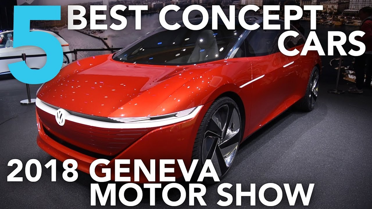 Top 5 Best Concept Cars of the 2018 Geneva Motor Show - Dauer: 3 Minuten, 51 Sekunden