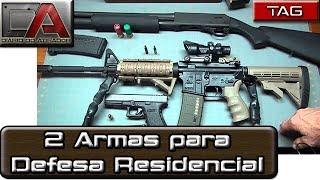 Tag - Duas Armas para Defesa Residencial