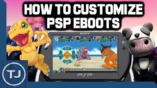 How To Customize PSP/PSP GO 6.61 EBOOTS!