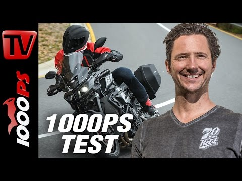 Yamaha MT 10 Tourer Edition Test