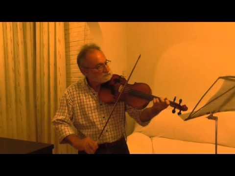 Palomitas de maiz. Cover.  Joaquín al violín.