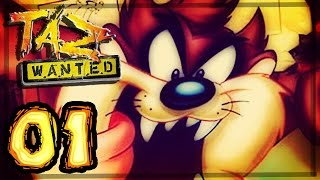 Taz Wanted Walkthrough Part 1 ~ 100% (PC, PS2, Gamecube, XBOX) Yosemite Zoo - Zooney Tunes