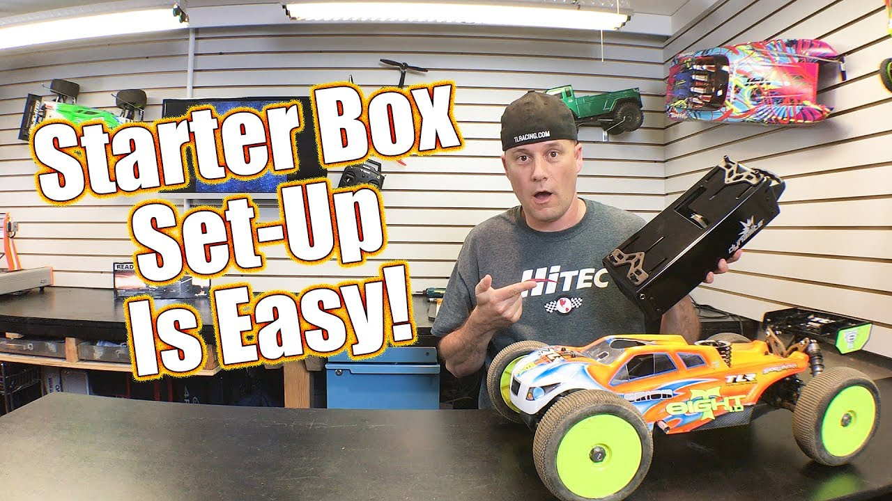 How To Set Up A Nitro Engine Starter Box & Dynamite Ready Start DM Ofna Wiring Diagram on