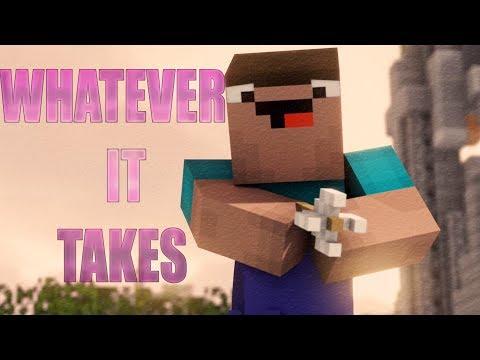 Imagine Dragons - Whatever It Takes | Minecraft Animation Song | Sky Wars | Black Plasma Studios