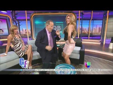 Las caderas de Malillany Marín dejaron a Raúl con la boca abierta - El Gordo y La Flaca thumbnail
