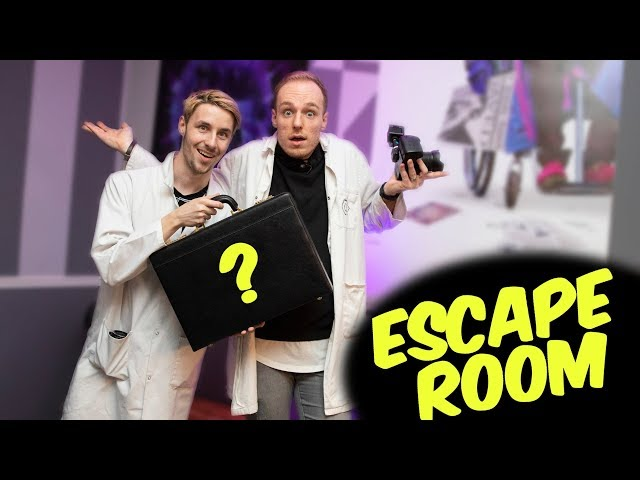 ESCAPE ROOM ONTSNAPPING GAAT FOUT!