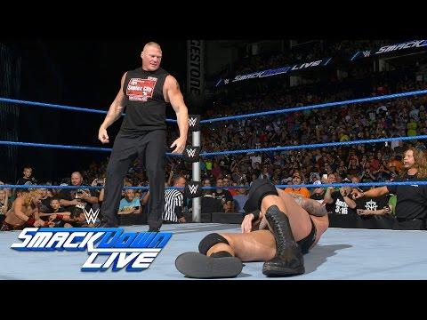 Brock Lesnar invades SmackDown Live:...