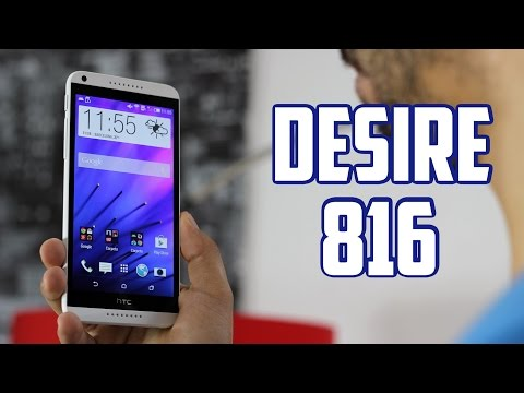 HTC Desire 816, Review en español