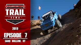 homepage tile video photo for Trail To SEMA 2019 - Episode 7: The Maze at Sand Hollow, UT