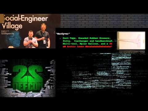 DEF CON 22   Corporate Espionage   Gathering Actionable Intelligence Via Covert Operations