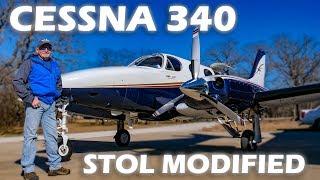cessna-340-modified-for-short-soft-field-takeoff-landings