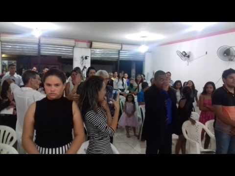 PASTOR CICERO LOUVANDO YEGUMANASH NA ASSEMBLÉIA DE DEUS MINISTÉRIO MADUREIRA EM PORÇÃO DE PEDRAS NO