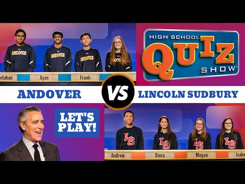 High School Quiz Show: Andover vs. Lincoln-Sudbury (707)