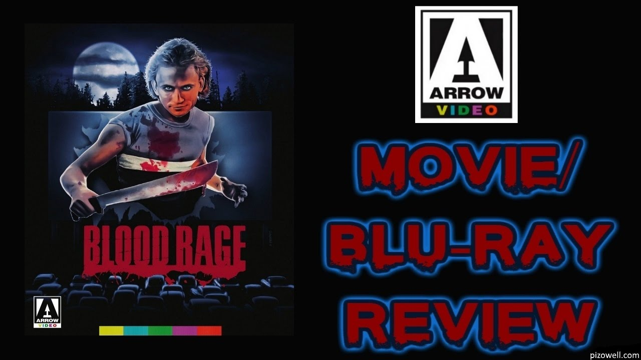 Download BLOOD RAGE (1987) - Movie/Blu-ray Review (Arrow Video)