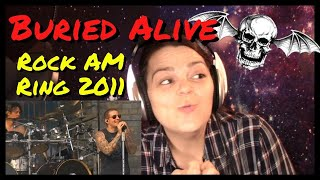 Avenged Sevenfold Buried Alive (Rock AM Ring 2011) REACTION
