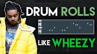 Wheezy drumkit