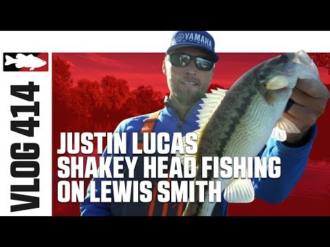 Justin Lucas Shakey Head Fishing on Lewis Smith Lake - TW VLOG #414