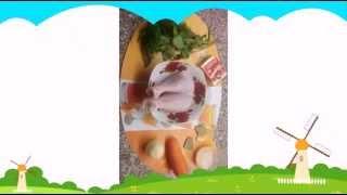 Сырный куриный бульон / Cheesy chicken broth
