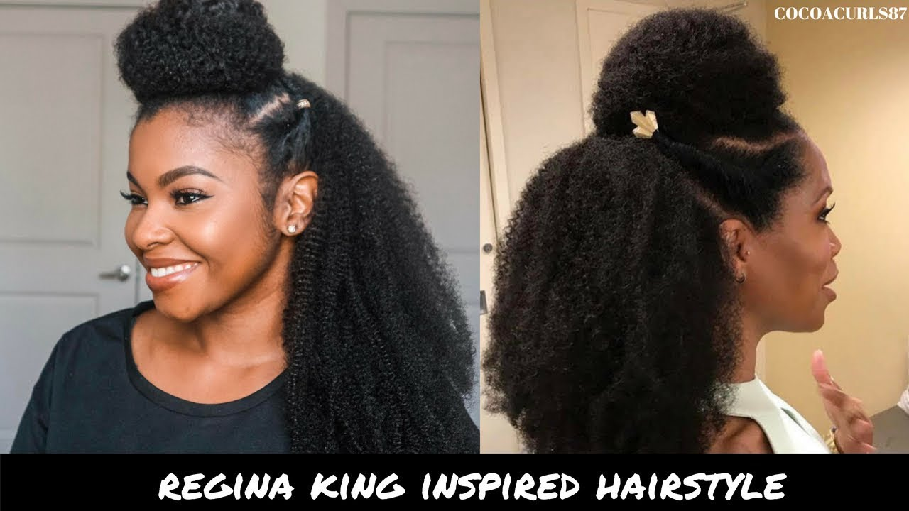 Regina King Inspired Hairstyle Kinkistry Kurlgenics Clip Ins