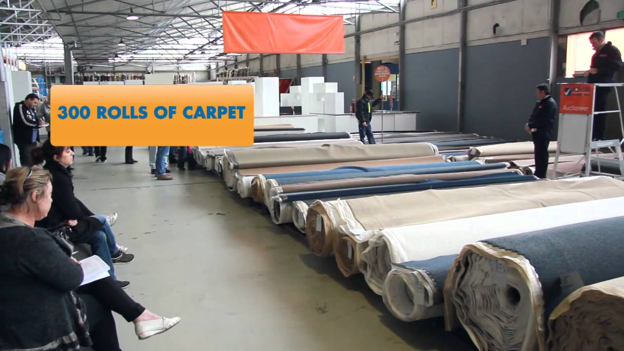 Fowles Carpet Auction - YouTube