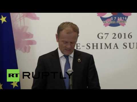 Japan: Tusk and Juncker welcome Eurozone deal on Greek debt bailout