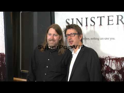 Scott Derrickson and Robert Cargill at Sinister Special S...
