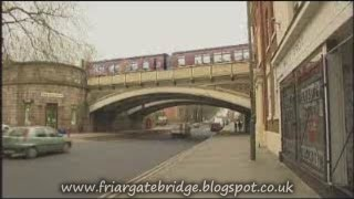 Friar Gate Bridge Report On East Midlands Today 2008, Plans By Derek Latham.