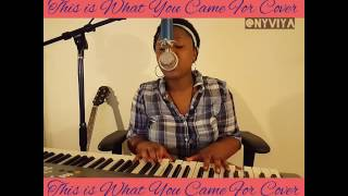 Calvin Harris - This Is What You Came For [HQ Audio] ft. Rihanna (NYVIYA COVER)