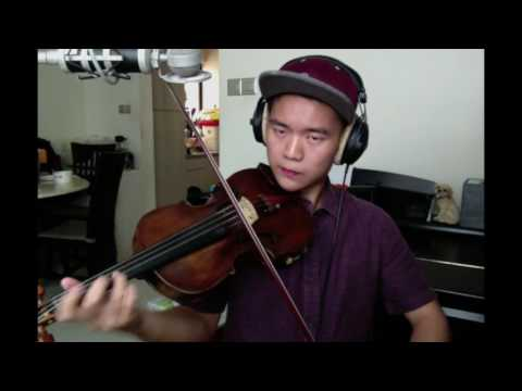 jhené aiko - while we're young (violin cover)