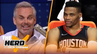 It's time to admit 4 facts about Rockets' Russell Westbrook — Colin Cowherd   NBA   THE HERD