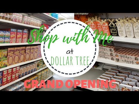 Come Shop With Me| Dollar Tree Grand Opening 7-6-2019