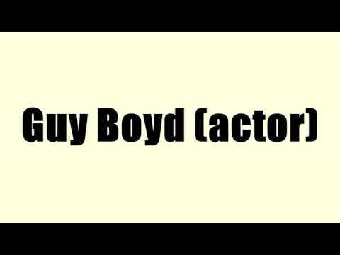 Guy Boyd (actor)