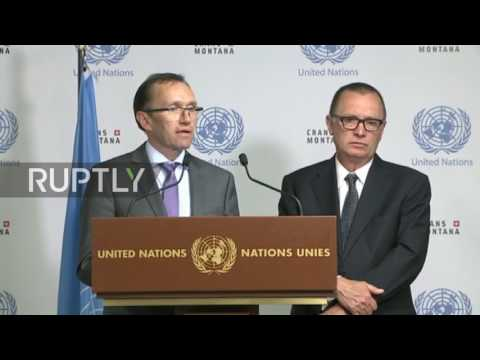 Switzerland: Cyprus peace agreement 'hard but not impossible' - UN