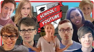 Graduation Day at the School of YouTube - #LaughLearnGive