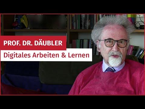 Betriebsrats-Tipps Von Prof. Wolfgang Däubler: Digitales Arbeiten & Lernen   #ifbInterviews