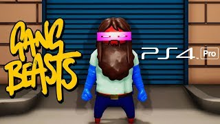 GANG BEASTS PS4 PRO GAMEPLAY