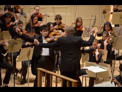 Prokofiev Violin Concerto No.1 | Angelo Xiang Yu | Hugh Wolff | Boston Symphony Hall | NEC Phil