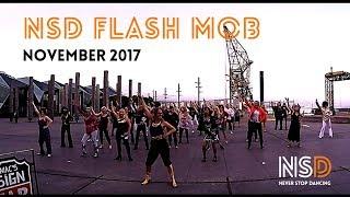 SATURDAY NIGHT FEVER FLASH MOB