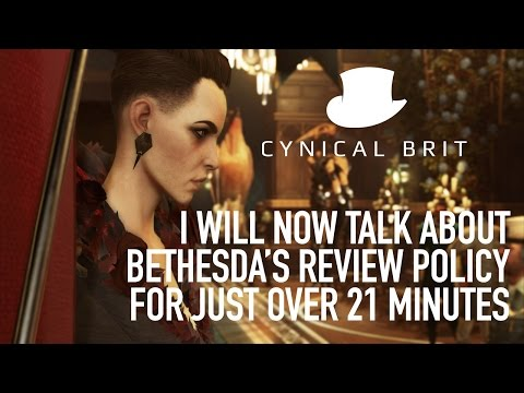 I will now talk about Bethesda's review policy for just over 21 minutes