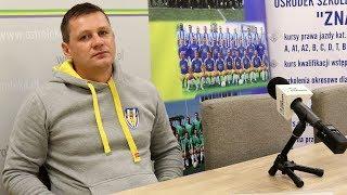 Rozmowa z trenerem Marcinem Truszkowskim po meczu z Kasztelanem Sierpc