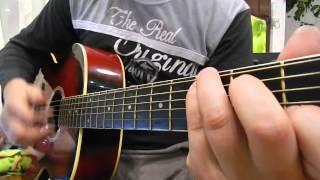 Половинка (Танцы минус) кавер. Обучение игры на гитаре.