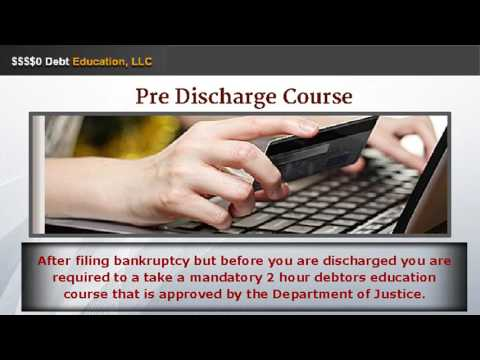 Post Bankruptcy Counseling Course